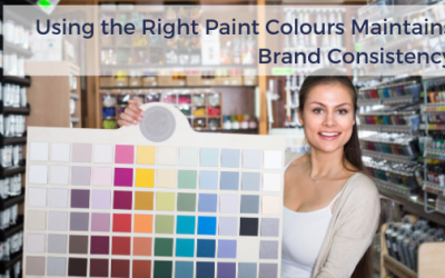 Using the Right Paint Colours Maintains Brand Consistency