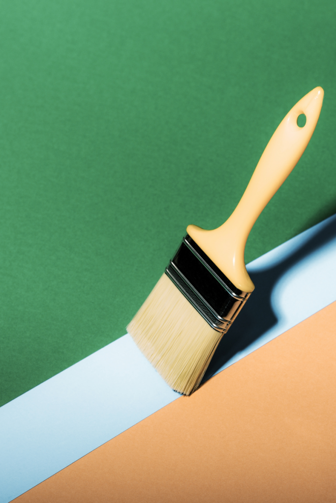 painting straight lines