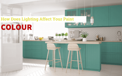 How Does Lighting Affect Your Paint Colour